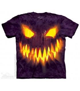 Big Face Jack - Halloween T Shirt The Mountain