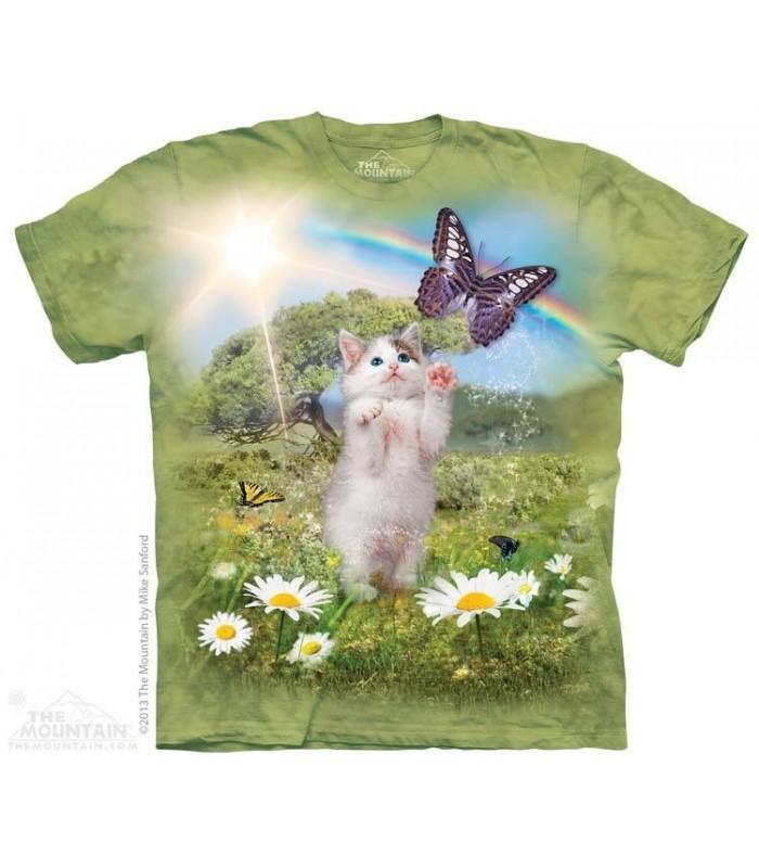 T-shirt Pays de Rêve pour Chatons The Mountain