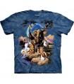 T-Shirt Le Monde Des Animaux par The Mountain