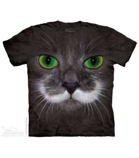 Hamilton le Chat Hippie - T-shirt animal The Mountain