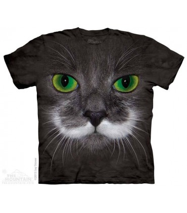 Hamilton le Chat Hippie - T-shirt animal The Mountain