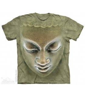 Buddha - T-shirt Statue The Mountain