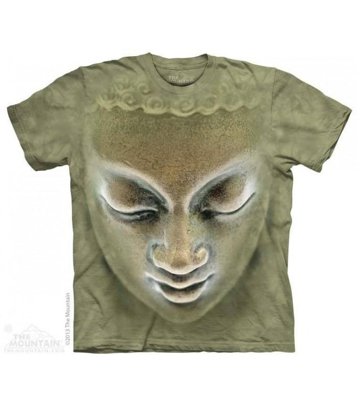 Big Face Buddha - Statue T Shirt The Mountain