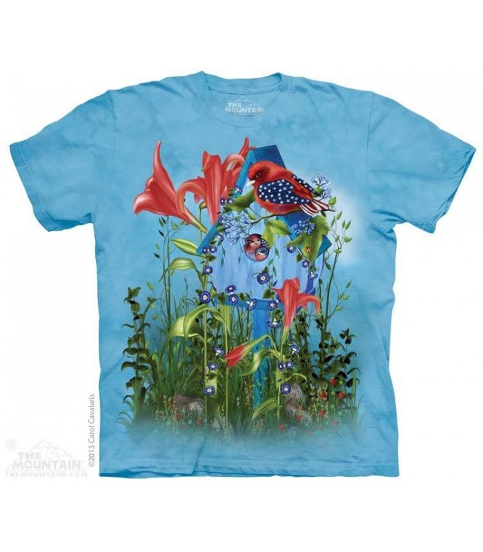 Petit Oiseau Etoilé - T-shirt patriotique The Mountain