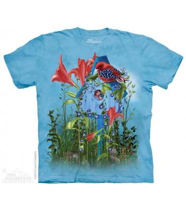Star Spangles Birdie - Patriotic T Shirt The Mountain