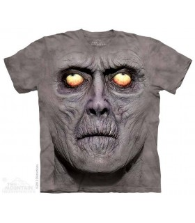 Zombie Portrait - Dark Fantasy T Shirt The Mountain