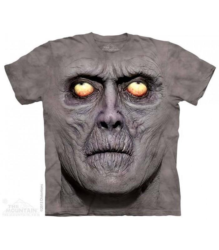 Zombie Portrait - Dark Fantasy T Shirt The Mountain