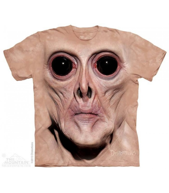 Krem - T-shirt Monstre The Mountain