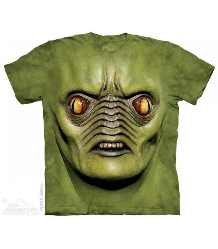 Big Face Andromeda - Fantasy T Shirt The Mountain
