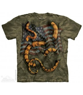 Don't Tread on Me - Patriotic T Shirt The Mountain