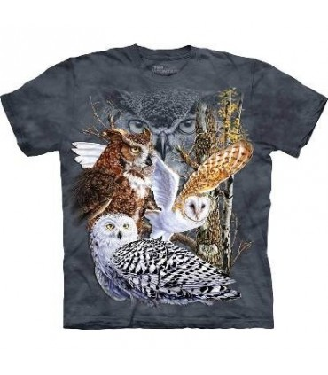 Find 11 Owls - Bird T Shirt Mountain