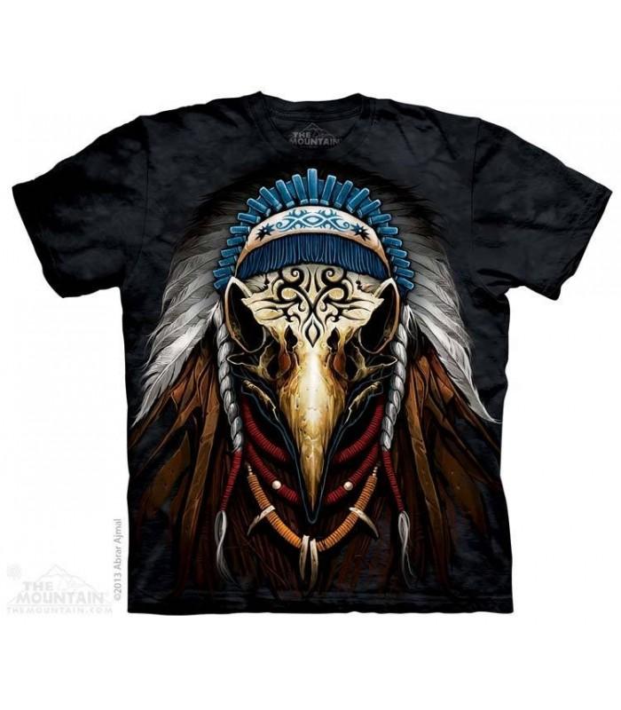 Esprit de l'Aigle - T-shirt amérindien The Mountain