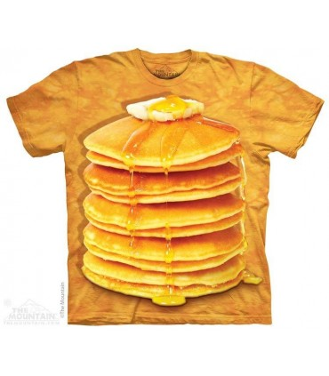 Big Stack Pancakes - Food T Shirt The Mountain