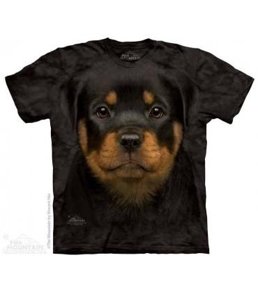 Rottweiler Puppy - Dog T Shirt The Mountain