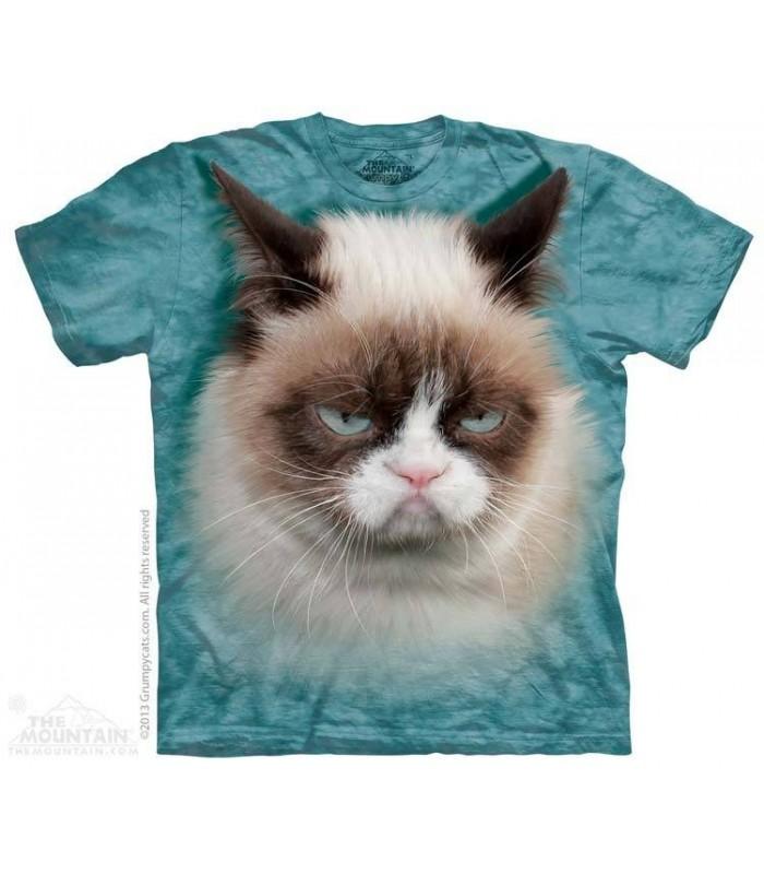 T-shirt tête de Chat Grincheux The Mountain