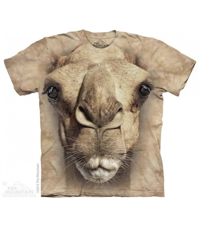 Big Face Camel - Animal T Shirt The Mountain