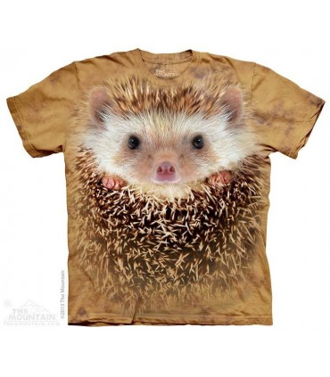 Big Face Hedgehog - Animal T Shirt The Mountain