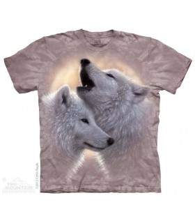 Chanson d'Amour - T-shirt Loups The Mountain