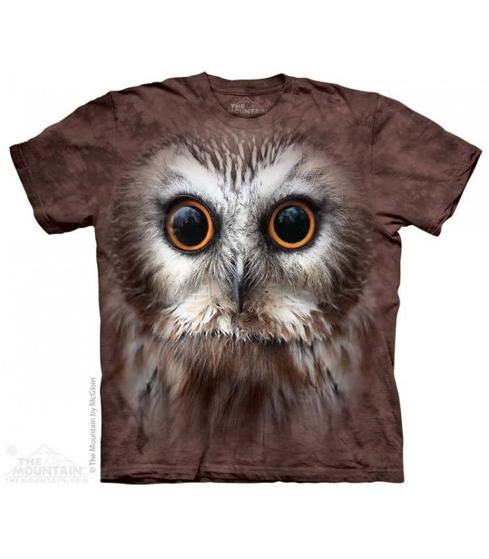 T-shirt tête de Hibou The Mountain