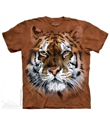 Fierce Tiger - Big Cat T Shirt The Mountain