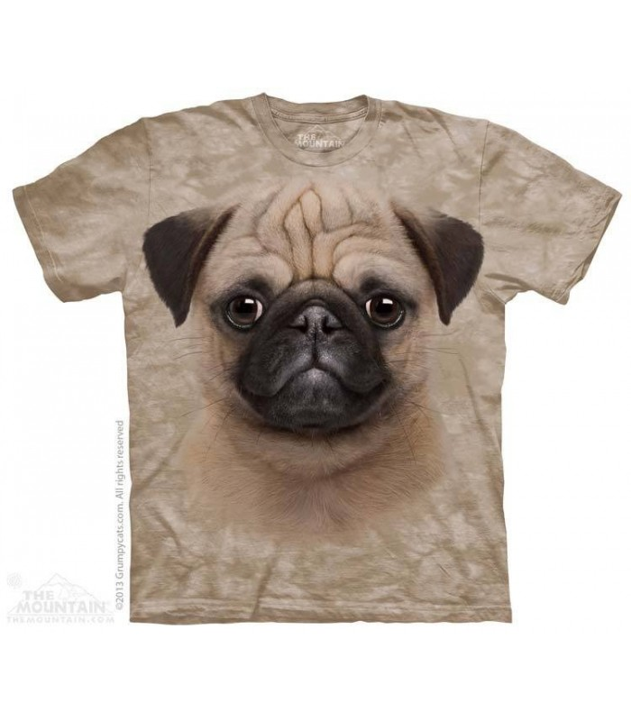 Pug Puppy - Dog T Shirt The Mountain