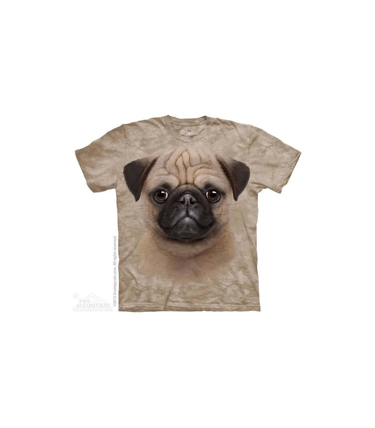 c974194973bbe Pug Puppy - Dog T Shirt The Mountain