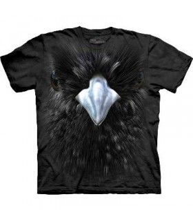 Blackbird Face - Bird T Shirt Mountain