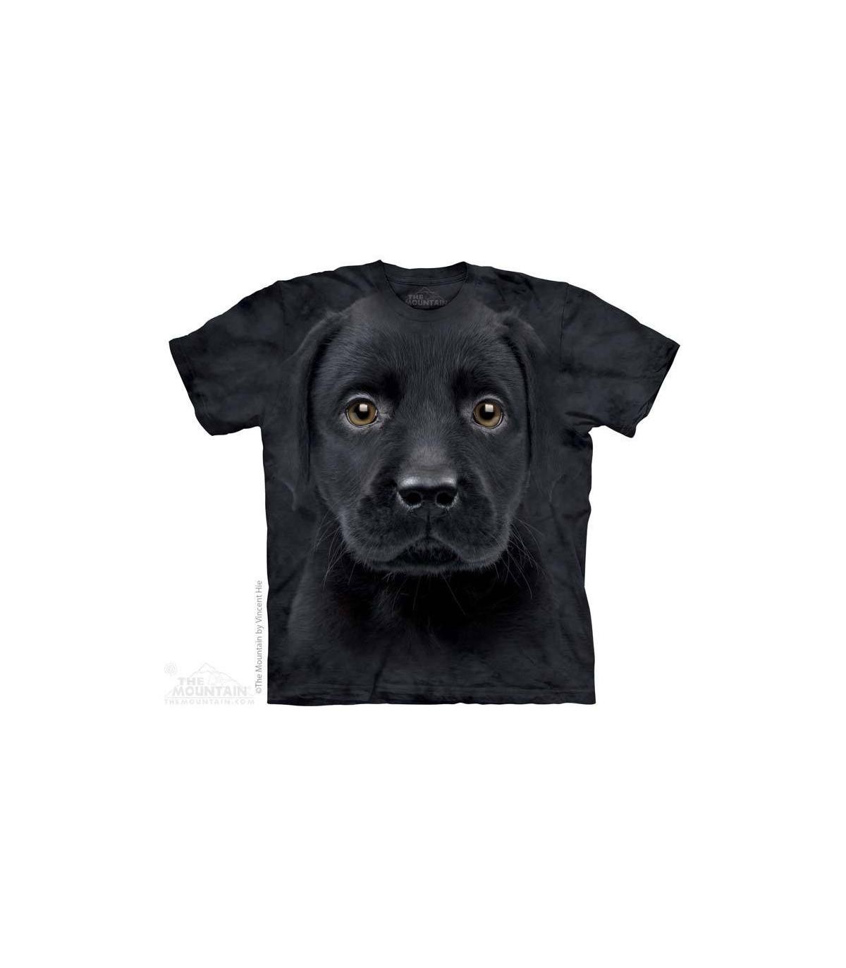 The Mountain Black Lab Labrador Retriever Dog Puppy Hoodie Sweatshirt Jacket