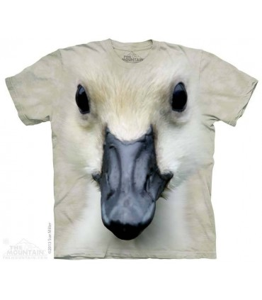 Big Face Baby Duck - Bird T Shirt The Mountain