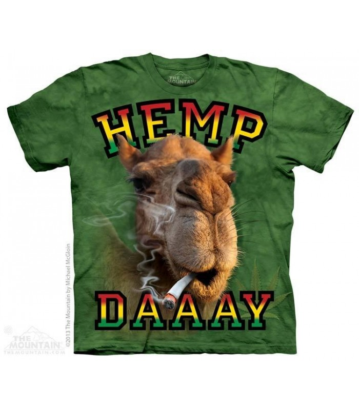 Hemp Daaay - T-Shirt Chameau The Mountain