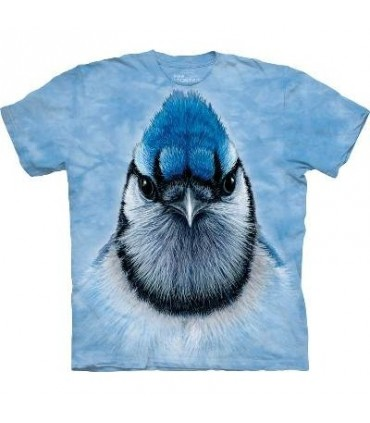 Blue Jay - Bird T Shirt Mountain