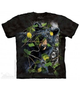 Trouver 8 Ours Noirs - T-shirt Ours The Mountain