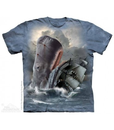 Moby Dick - Whale T Shirt The Mountain