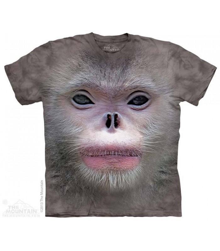 T-shirt Singe à Nez Camus The Mountain