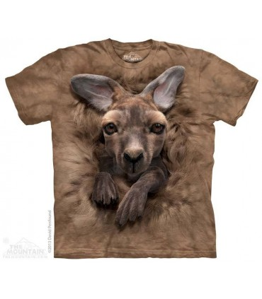Baby Kangaroo - Animal T Shirt The Mountain