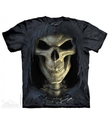 Big Face Death - Skull T Shirt The Mountain