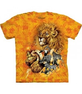 T-Shirt African King par The Mountain