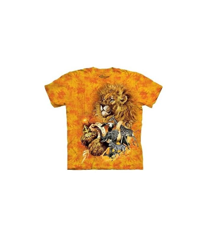T-Shirt African King par The Mountain