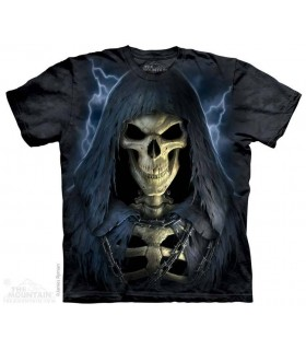 La Mort Enchainée - T-shirt Crâne The Mountain