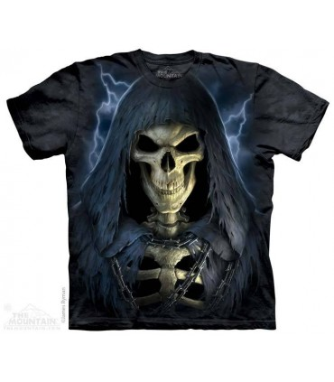 Death in Chains - Skull T Shirt The Mountain