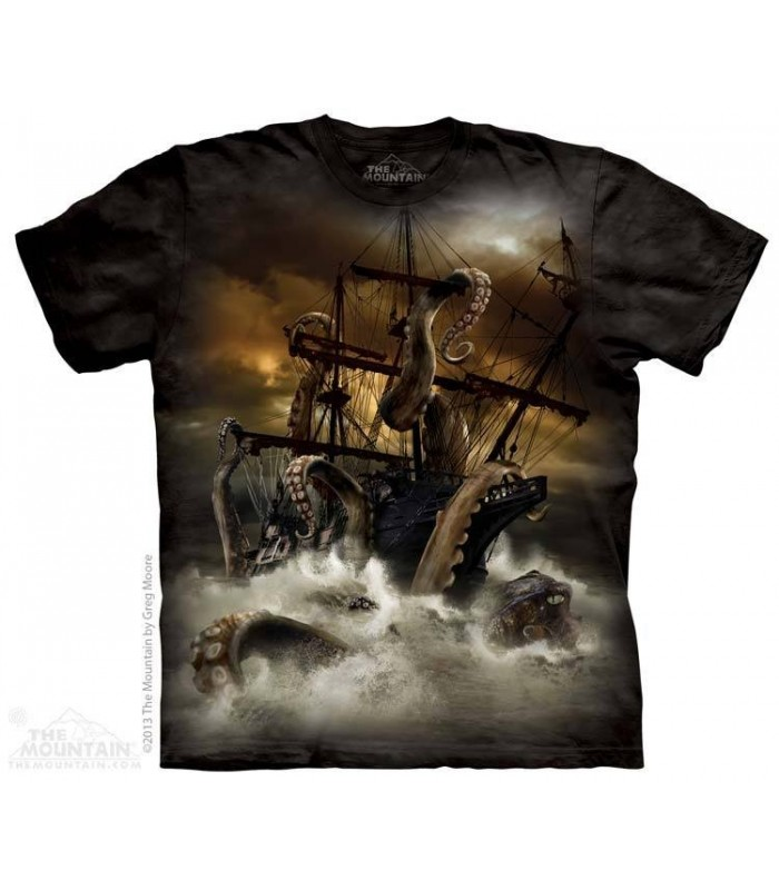 Kraken - Monster T Shirt The Mountain