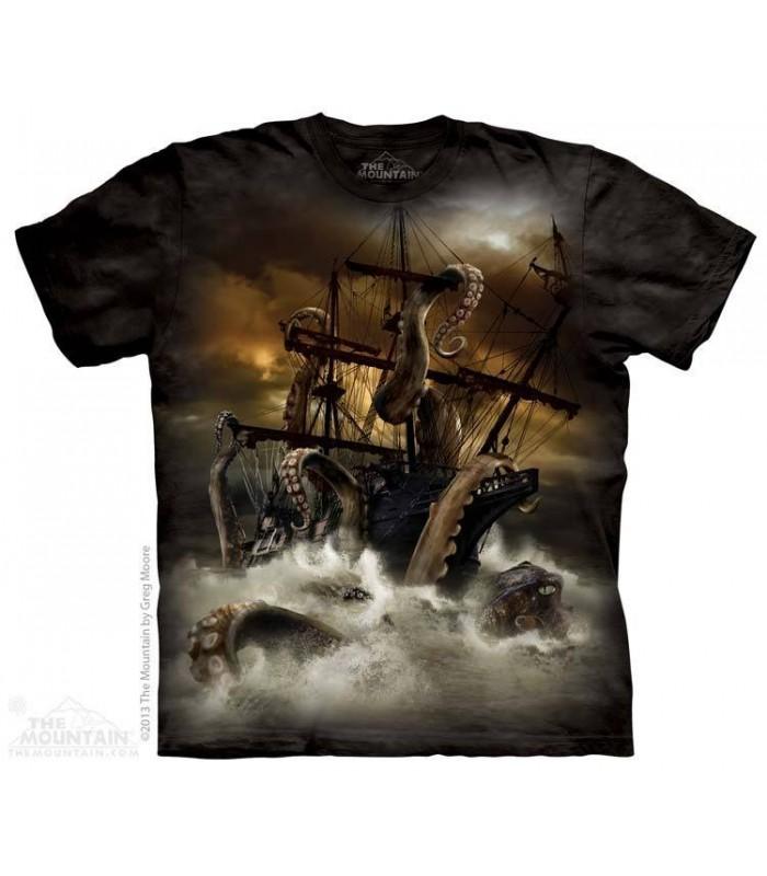 Kraken - T-shirt Monstre The Mountain