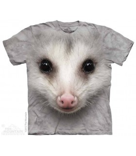 Big Face Opossum - Animal T Shirt The Mountain