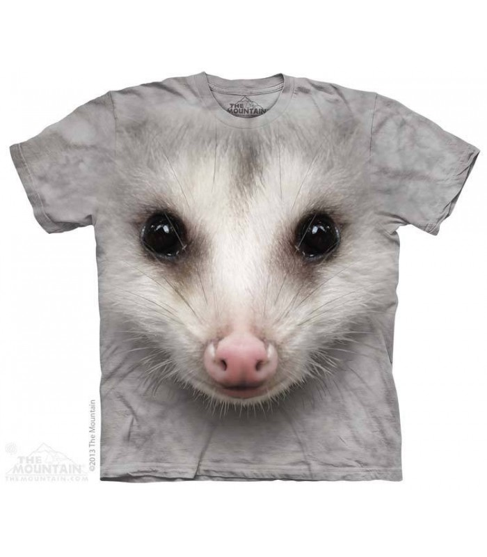Big Face Opossum - Animal T Shirt The Mountain