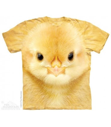 Big Face Baby Chick - Bird T Shirt The Mountain
