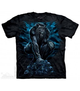 Werewolf Rising - Fantasy T Shirt The Mountain