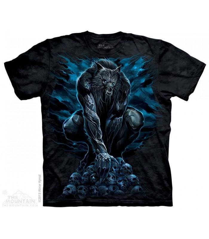 Werewolf Rising - Fantasy T Shirt The Mountain