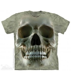 Big Face Skull - T Shirt The Mountain