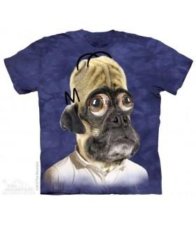 Pugson - Humorous Dog T Shirt The Mountain