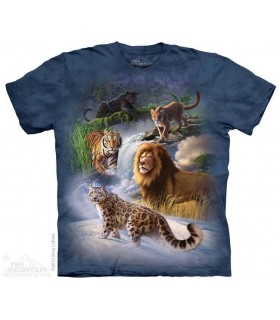Global Cats - Big Cat T Shirt The Mountain